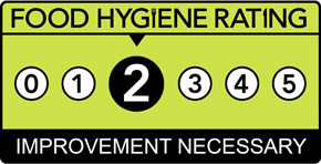 Tarantino's Food Hygiene Rating