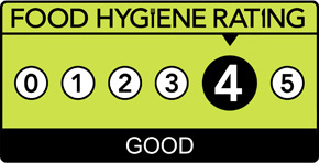 Prezzo Chelmsford's Food Hygiene Rating