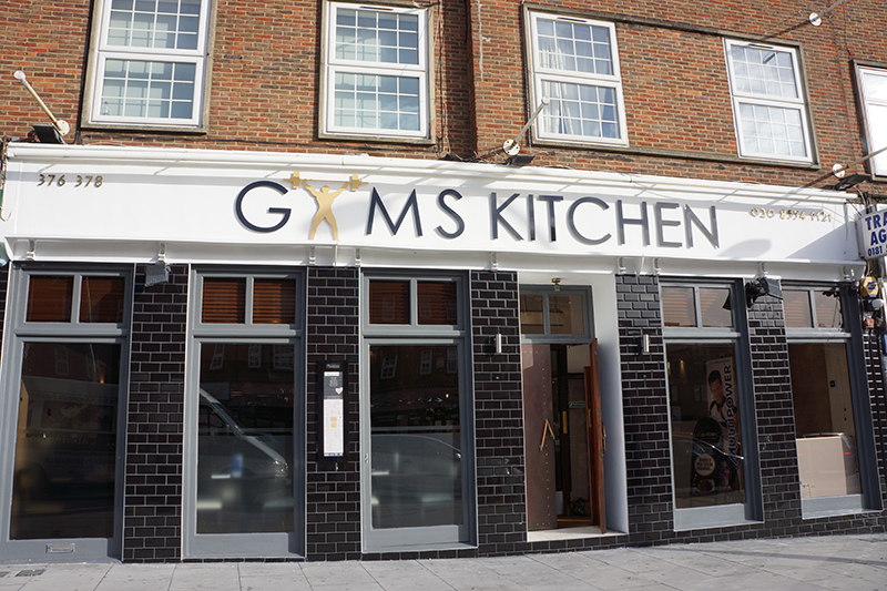 Gyms Kitchen Ilford Menu